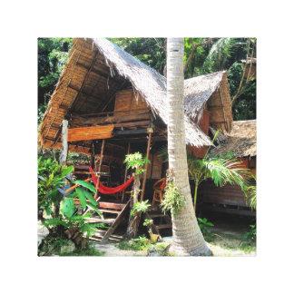 Pavillon de plage toiles