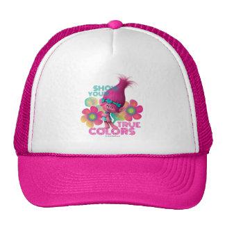 Pavot des trolls | - montrez vos couleurs vraies casquette trucker