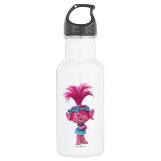 Pavot des trolls | - reine des trolls bouteille d'eau en acier inoxydable