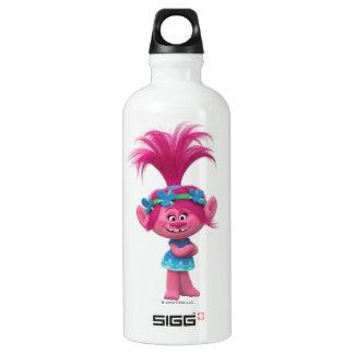 Pavot des trolls | - reine des trolls bouteille d'eau en aluminium