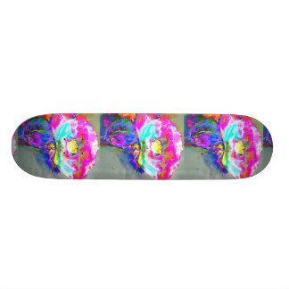 Pavot rose plateau de skateboard
