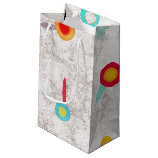Pavots brillants de sac mat petit sac cadeau