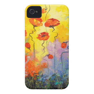 Pavots Coques Case-Mate iPhone 4