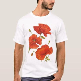 Pavots de T-shirt