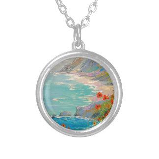 Pavots par la mer collier