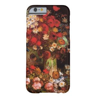 Pavots, pivoines et chrysanthèmes de Van Gogh Coque iPhone 6 Barely There