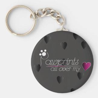 Pawprints - porte - clé porte-clés