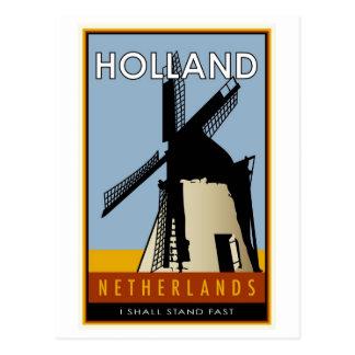 Pays-Bas Carte Postale