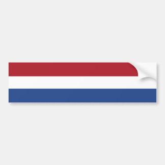 Pays-Bas - drapeau néerlandais Autocollants Pour Voiture