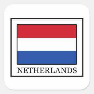 Pays-Bas Sticker Carré