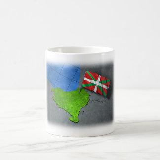 Pays Basque avec son propre drapeau Tasses