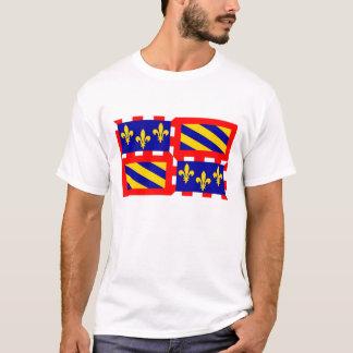 Pays de la France de drapeau de région française T-shirt