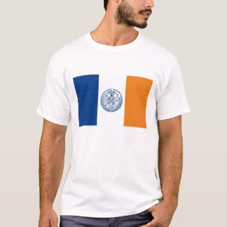 pays des Etats-Unis Amérique de drapeau de New T-shirt
