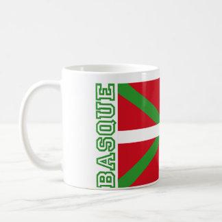 Pays et ikurriña Basques, Mug Blanc
