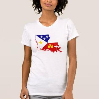Pays français de la Louisiane Acadiana Cajun de T-shirt