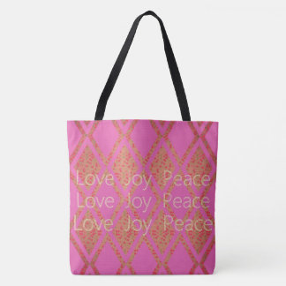 PAYS-TISSU-AMOUR-JOIE-PAIX-ROSE-EMBALLAGES SAC