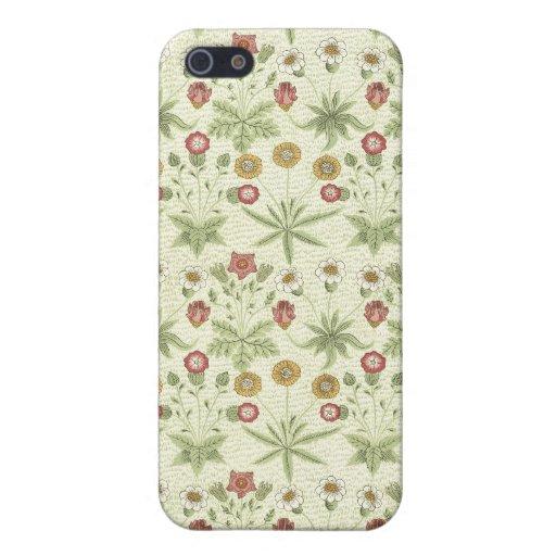Pays vintage Pern floral Coques iPhone 5