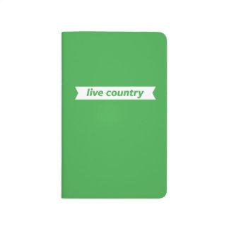 Pays vivant carnet de poche