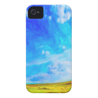 Paysage abstrait coques iPhone 4 Case-Mate