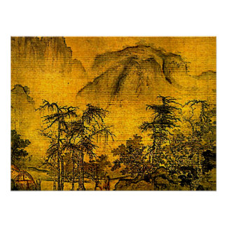 Paysage antique posters