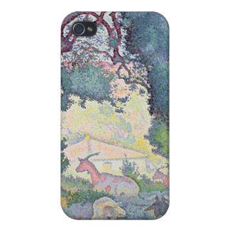 Paysage avec des chèvres, 1895 étui iPhone 4/4S