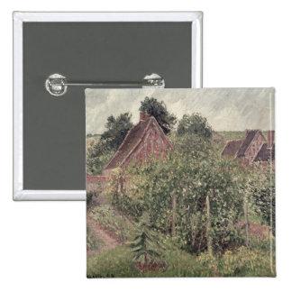 Paysage avec des toits de cottage, 1899 badges
