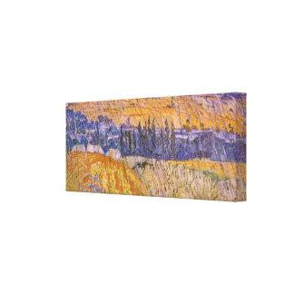 Paysage chez Auvers sous la pluie, Vincent van Toiles