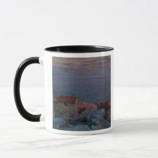 Paysage côtier (huile sur la toile) mug