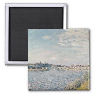 Paysage d'Alfred Sisley | Magnet Carré