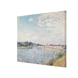 Paysage d'Alfred Sisley | Toiles