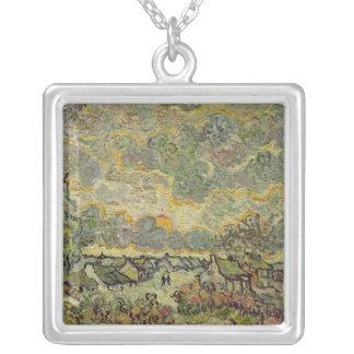 Paysage d'automne de Vincent van Gogh |, 1890 Collier