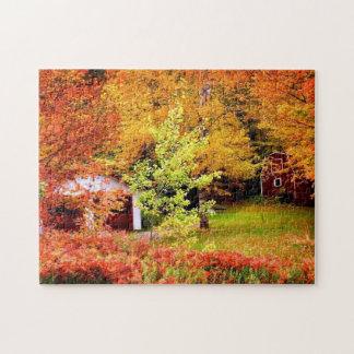 Paysage d'automne puzzle