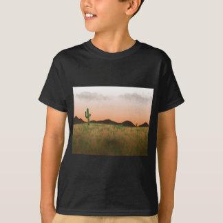 Paysage de désert de pays - T-shirt