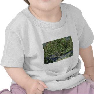 Paysage de fleur et de nature t-shirt