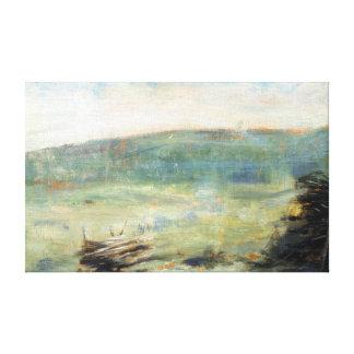 Paysage de Georges Seurat au Saint-Ouen Toiles