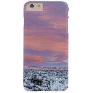 Paysage de gisement de lave de Milou, Islande Coque iPhone 6 Plus Barely There