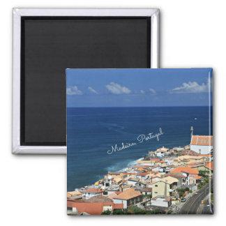 Paysage de la Madère, Portugal Magnets Pour Réfrigérateur