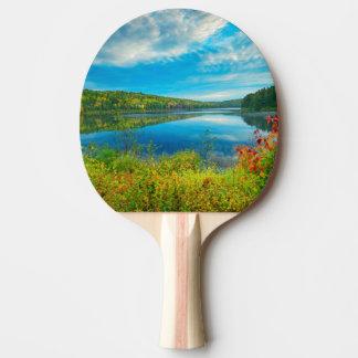 Paysage de lac Costello Raquette De Ping Pong