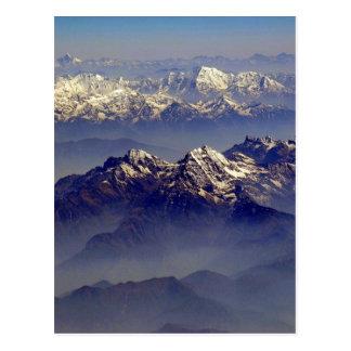 Paysage de l'Himalaya Carte Postale