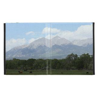 Paysage de montagne du Colorado Coque iPad