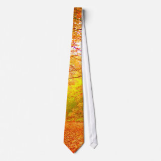 Paysage de nature d'automne du Vermont Cravates Personnalisables