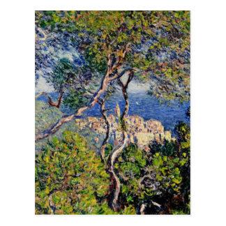 Paysage de peinture de Monet Carte Postale