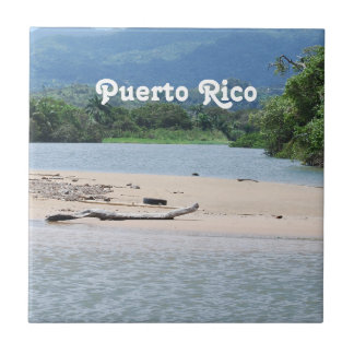 Paysage de Porto Rico Petit Carreau Carré