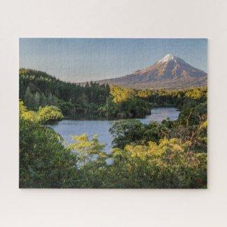 Paysage de puzzle de la Nouvelle Zélande - le