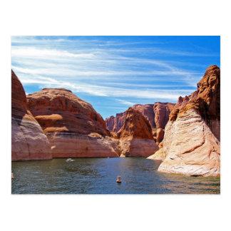 Paysage de réservoir d'eau de l'Arizona de page de Carte Postale