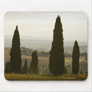 Paysage de roulement, Toscane, Italie 2 Tapis De Souris