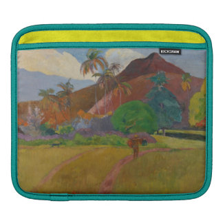 Paysage de Tahitian, 1891 (huile sur la toile) Poches iPad