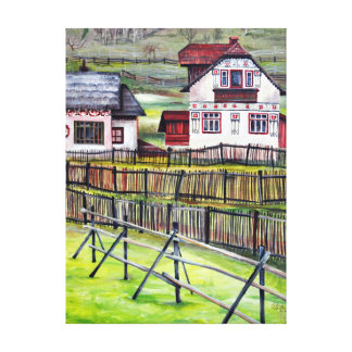 Paysage de Transylvanian Toiles