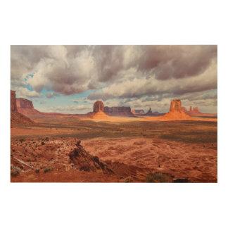 Paysage de vallée de monument, AZ Impression Sur Bois