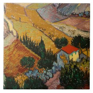 Paysage de Vincent van Gogh | avec la Chambre et Grand Carreau Carré